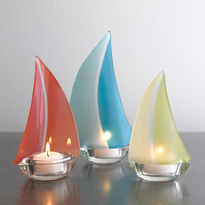 Regatta Tealight Candle Holder Sherbert All Seasons For