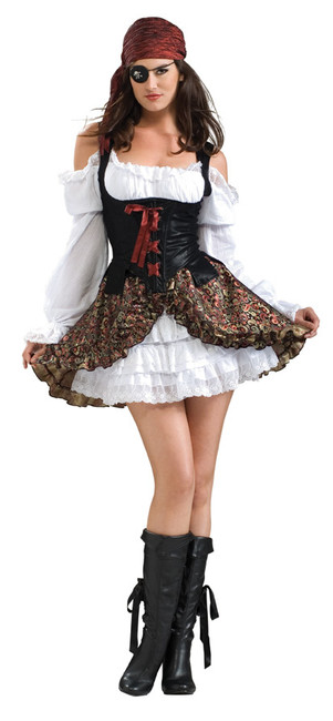Buccaneer Beauty Adult female Extra Small Costume