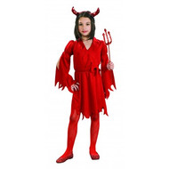 Devil Girl Child's Halloween Costume