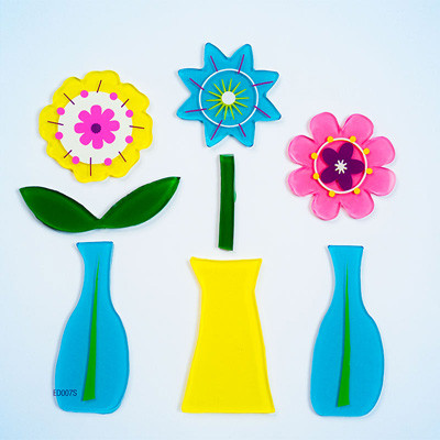 Dainty Vase Small GelGems® WIndow Clings