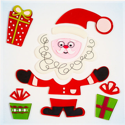 North Pole Small GelGems® WIndow Clings