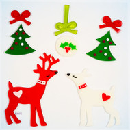 Oh Deer Small GelGems® WIndow Clings