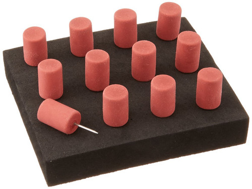 Eraser Push PIns - Set of 12