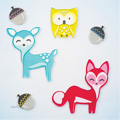 Little Critters GelGems® Small Window Clings