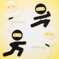 Ninjas GelGems® Small Window Clings
