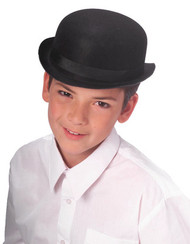 Child's Dura Derby black Hat