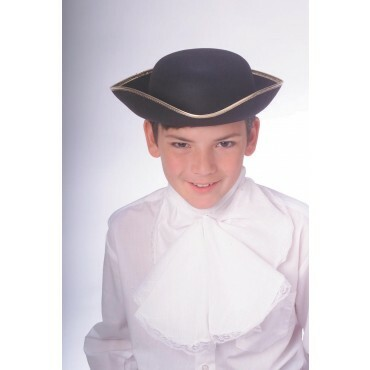 Child's Dura Tricorn black Hat