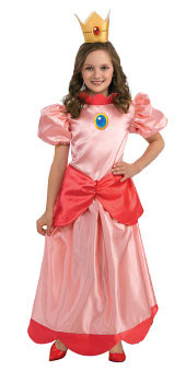 Super Mario Princess Peach child costume