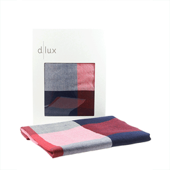 The D.Lux Panda Wool Baby Wrap in navy.