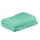 D.Lux Mini Moss Cotton Knitted Bassinet Cover in Sea Green.