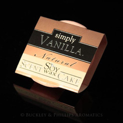 Buckley and Phillips Simply Soy Wax Scenta Cake - Vanilla.