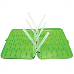 B.Box Bottle Drying Rack - Apple - Open