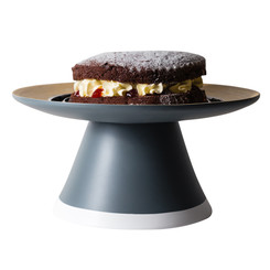 ECD Bamboo Cake Stand - Charcoal