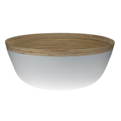 ECD by Executive Design - Bamboo Bowl Extra Large - White
