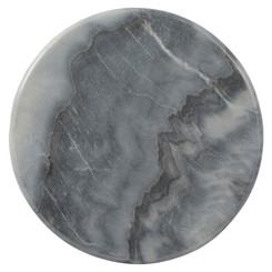 Marble Serve Board - Round - Grey
