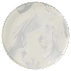 Olsen Marble White Serving Plate - 31cm