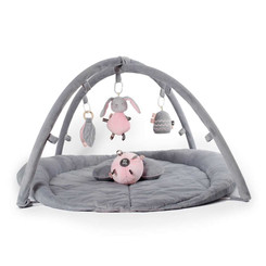 Woodlands Activity Playmat - Pink & Grey