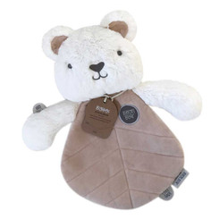 Big Hugs Comforter - Byron Bear (White)