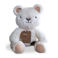 Byron Bear (White) Big Hugs Teddy Bear