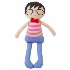 Alimrose Ted | Doll Rattle | Red