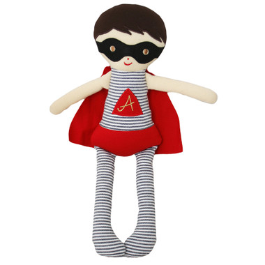 Alimrose Super Hero | Doll Rattle