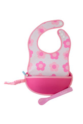 B.Box Essential Travel Bib in Flower Power.