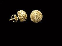 10K Gold 0.52Ct Diamonds Earrings