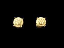 10K Gold 0.38ct Diamonds Earrings