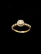 14K Gold 0.40ct Diamonds Ladies Ring