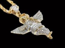 10K Gold 0.45CT Diamond Angel