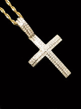 10K Gold 0.20CT Diamond Pendant