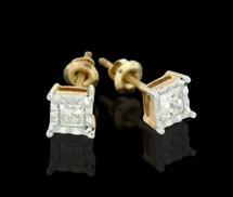 14K Gold 0.52CT Diamond Earrings