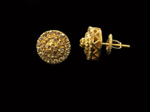10K gold 0.49ct Diamonds Earrings
