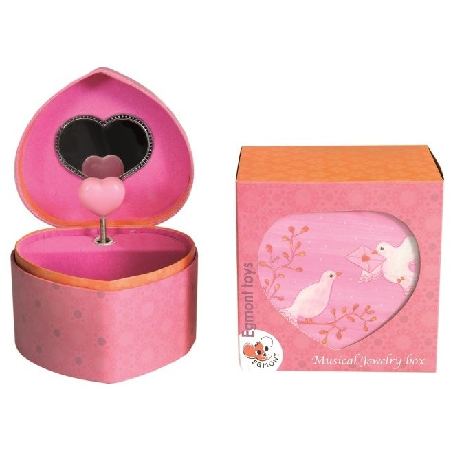 Musical Jewellery Box - Dove by Egmont Toys