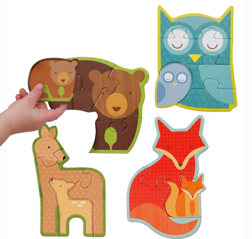 Beginner-Jigsaw-Puzzle-Forest-Babies-Petit-Collage
