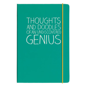 Notebook-Thoughts and Doodles of an Undiscovered Genius