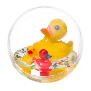 Water Ball Bath Toy- Yellow Mother Duck-Philos