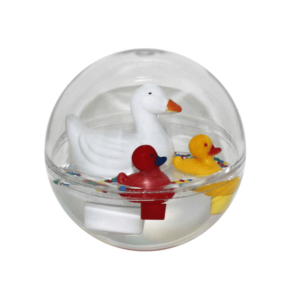 Water-Ball-Bath-Toy-White-Mother-Duck-Philos