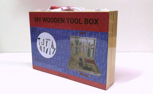 My Wooden Tool Box-packaged
