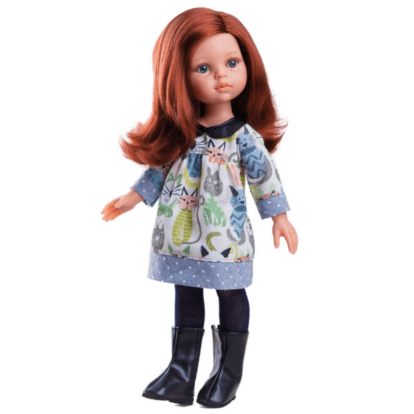 Paola Reina Doll-Cristi- Cat-Dress