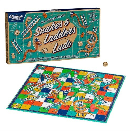 ridleys-snakes-and-ladders-ludo-board-game-set