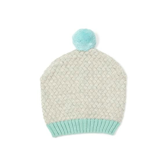 indus-design-cotton-grey-aqua-baby-beanie-mini-arrow