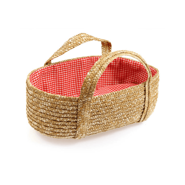 egmont-natural-straw-carrycot-doll-basket-red-lining