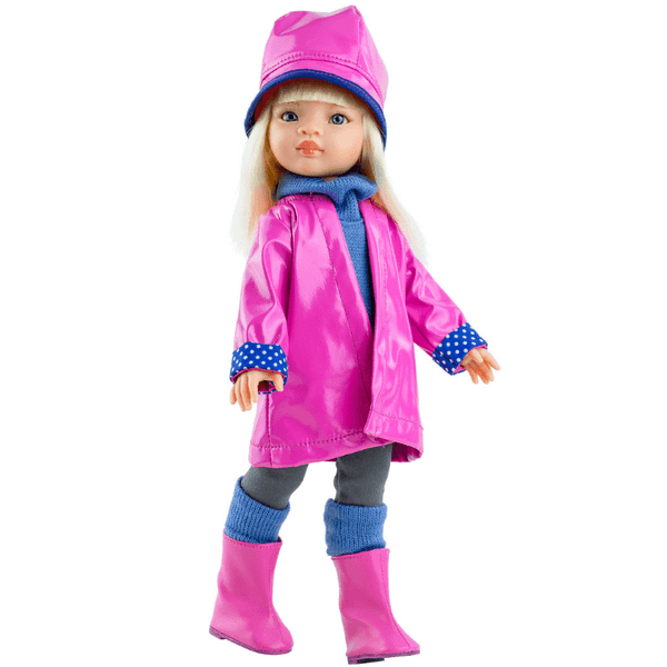 paola-reina-doll-manica-pink-raincoat