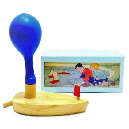 balloon-powered-wooden-boat