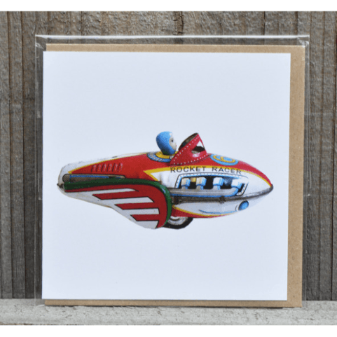 Rocket Racer Gift Card and Envelope