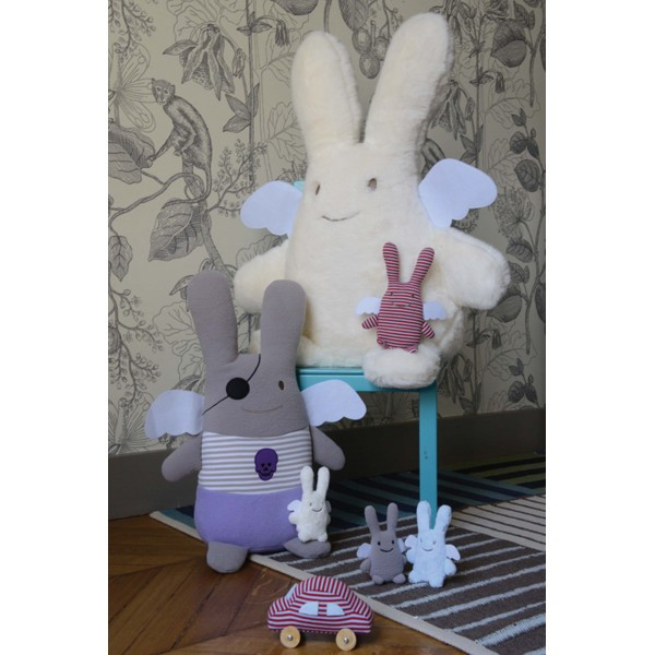 trousselier-pirate-bunny-angel-soft-toy-with-ivory-boy-bunny