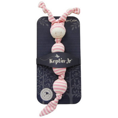 keptin-jr-sneeky-organic-soft-rattle-fuchsia-packaged