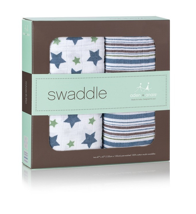 aden-and-anais-cotton-swaddle-2-pk-prince-charming-box