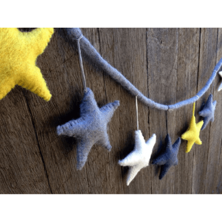 felt-star-garland-yellow-grey-and-white